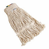 Frange Faubert coton écru 400 g avec ruban##Zwabber in ecru katoen 400 g met lint