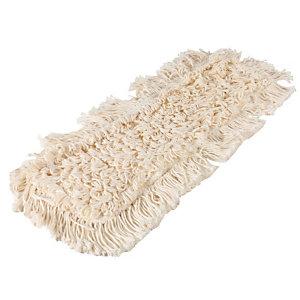 Frange polycoton pour système de lavage à plat à poches 43 cm