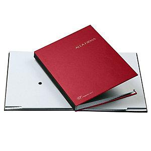 FRASCHINI Libro firma - 14 intercalari - 24x34 cm - rosso - Fraschini