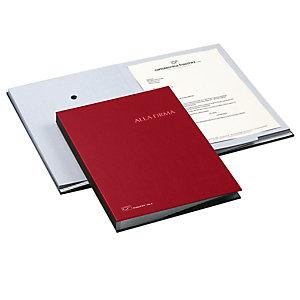 FRASCHINI Libro firma - 18 intercalari - 24x34 cm - rosso - Fraschini