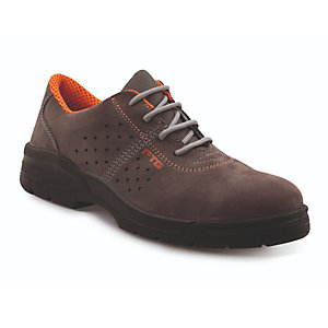 FTG safety shoes Scarpa bassa RODI S1P SRC, Marrone, Taglia 42