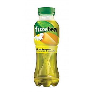 FUZE TEA FUZETEA Tè verde mango con una nota di camomilla, Bottiglia 400 ml (confezione 12 pezzi)