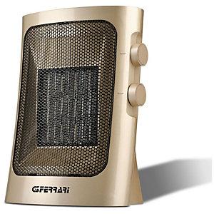 G3 FERRARI Termoventilatore ceramico, 19 x 13,5 x 25,5 cm, Color oro