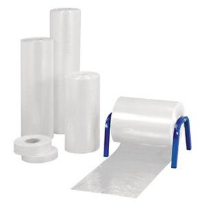 Gaine plastique transparente 50 microns