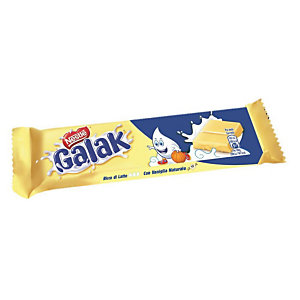 GALAK Barretta di cioccolato bianco, 35 g (confezione 36 pezzi)