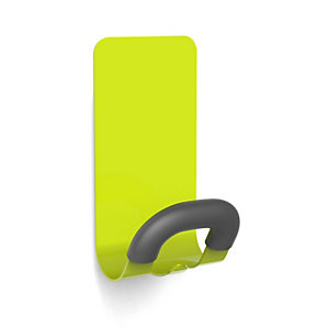 Gancio appendiborsa magnetico, Verde