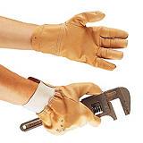 Gants de manutention en cuir, taille 9