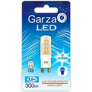 Garza BIPIN Bombilla LED 3,5W, casquillo G9, blanco cálido