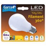 Garza Bombilla esférica estándar LED 6W casquillo E27, blanco cálido