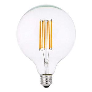 Garza Bombilla LED Globo con filamentos Clear G125 8 W
