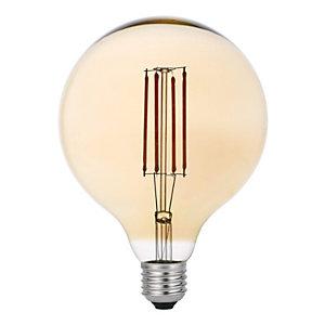 Garza Bombilla LED Globo con filamentos Gold G125 4 W