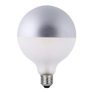 Garza Bombilla LED Globo con filamentos Silver G125 4,5 W