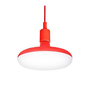 Garza Pendant Lámpara de techo LED 12 W roja