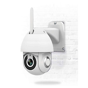 Garza SmartHome Cámara de Seguridad exterior e interior WIFI inteligente 360º