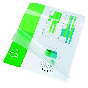 GBC Fundas de plastificación, A4, brillantes, 80 micras