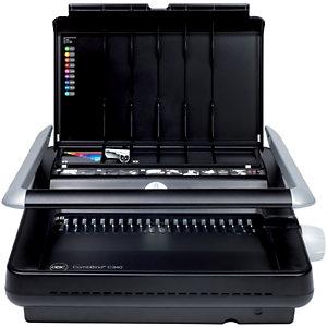 GBC Machine à relier manuelle par peigne, CombBind C340, capacité 450 feuilles A4 (210 x 297 mm) et A5 (148 x 210 mm)