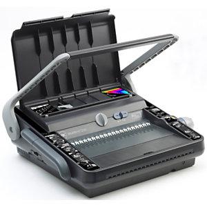 GBC Machine à relier manuelle par peigne et fil métallique, MultiBind 230, capacité 450 feuilles A4 (210 x 297 mm) et A5 (148 x 210 mm)