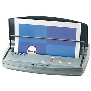 GBC Machine à relier thermique par couverture, ThermaBind T400, capacité 400 feuilles A4 (210 x 297 mm)