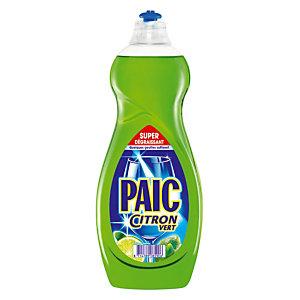 Geconcentreerd handafwasmiddel Paic limoengeur, fles van 750 ml