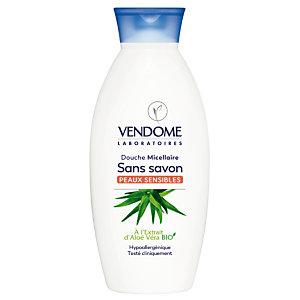 Gel douche micellaire Vendome extrait d'Aloe vera bio, 400 ml