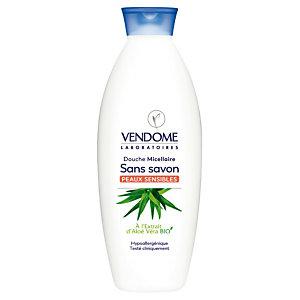 Gel douche micellaire Vendome extrait d'Aloe vera bio, 750 ml