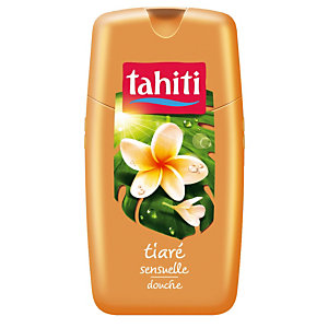 Gel douche Tahiti fleur de Tiare, flacon de 250 ml