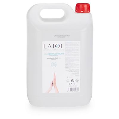 Gel hidroalcohólico de manos LAIOL 5L