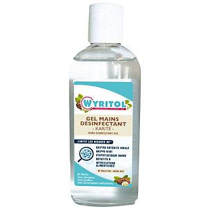 Gel hydroalcoolique au karité Wyritol , flacon de 100 ml