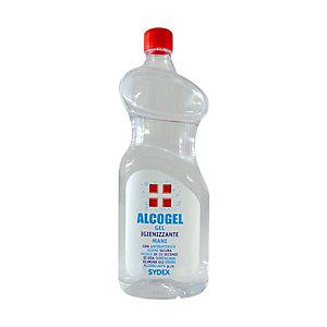 Gel igienizzante mani ALCOGEL, % alcol >70% (vol), Flacone da 1 kg