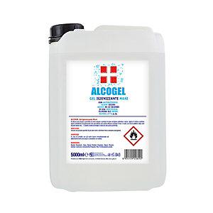 Gel igienizzante mani ALCOGEL, % alcol >70% (vol), Tanica da 5 kg