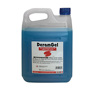 Gel igienizzante mani Deramgel con antibatterico, Alcool 65%, Tanica 5 l