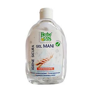 Gel igienizzante mani Herbe Cos, Alcool 71%, Flacone 500 ml
