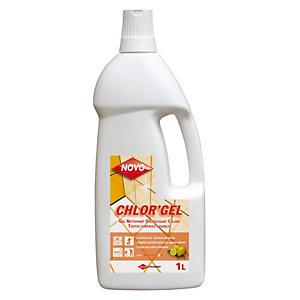 . Gel nettoyant avec javel Novo Chlor'gel citron 1 L