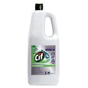 Gel nettoyant  désinfectant avec javel Cif 2 L