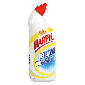 Gel WC Harpic gel javel Eclat & Blancheur citron pamplemousse 750 ml