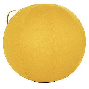 Gele ergonomische zitbal Alba