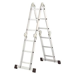 Gelede plooibare ladder Hailo 4 x 3 treden