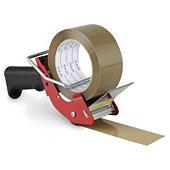 Geluidsarme pistoolafroller voor alle soorten tape