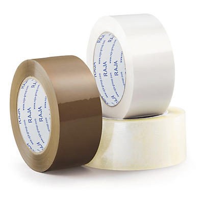 Ruban adhésif PP silencieux Rajatape, en film de polypropylène, qualité 35 microns##Geluidsarme PP-tape 35 micron