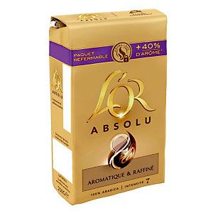 Gemalen koffie L'0r Absolu, 100% arabica, 2 x 250 g
