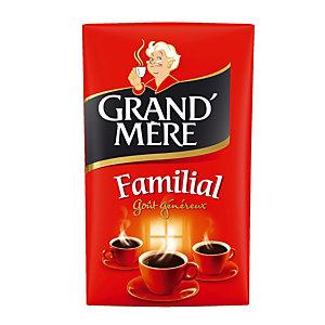 Gemalen koffie Grand'Mère Familial, 100% robusta, 4 x 250 g