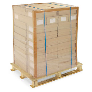General purpose edge protectors protect and strengthen stacks of boxes