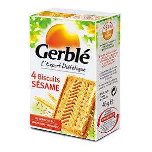 Gerblè Biscuits diététiques Sésame - Boîte de 4