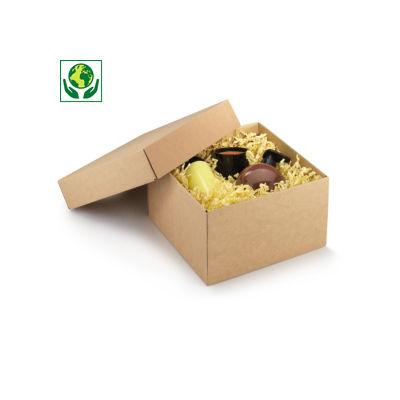 Boîte cadeau avec couvercle séparé##Geschenkdoos met los deksel