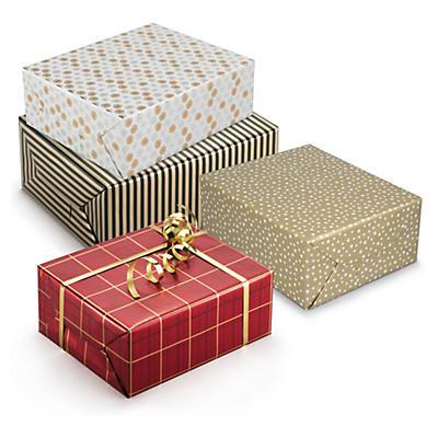 Papier cadeau de fête##Geschenkpapiere festlich
