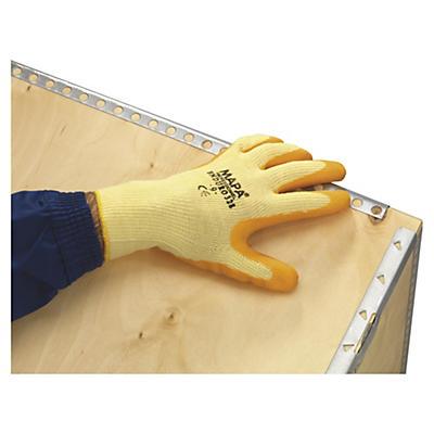 Gants tricotés coton MAPA##Gestrickte Handschuhe mit Latexbeschichtung