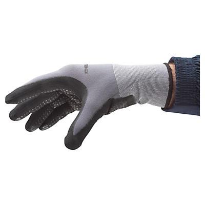 Gestrickte Polyamid-Handschuhe mit Noppen