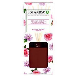 Geurstokjes Botanica roos en geranium 80 ml