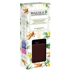 Geurstokjes Botanica vetiver en sandelhout 80 ml