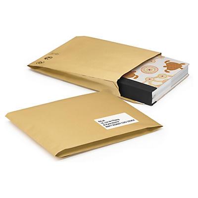 Gewatteerde papieren envelop 100% gerecycleerd
